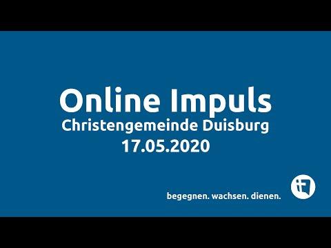 Christengemeinde Duisburg e.V. // Online-Impuls // 17.05.2020