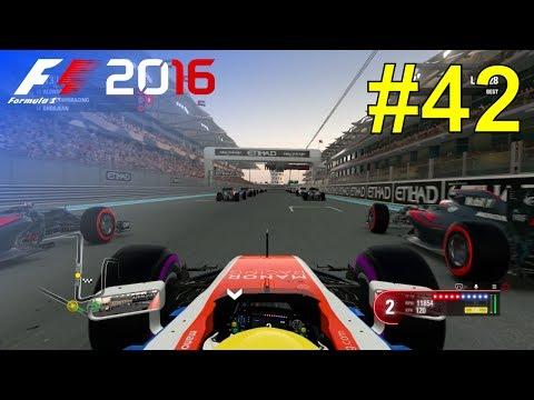 F1 2016 - Career Mode #42: Abu Dhabi Grand Prix - 50% Race