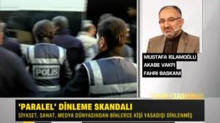 Kendisi ve yakın çevresi dinlenen Mustafa İslamoğlu TV Net'e açıklamalarda bulundu