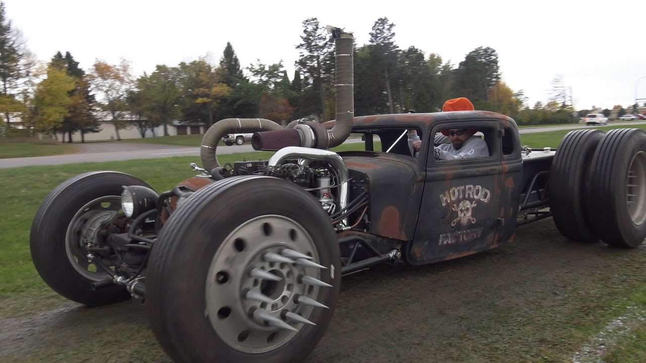 cummins twin turbo diesel rat rod this wild turbo rat is. Black Bedroom Furniture Sets. Home Design Ideas