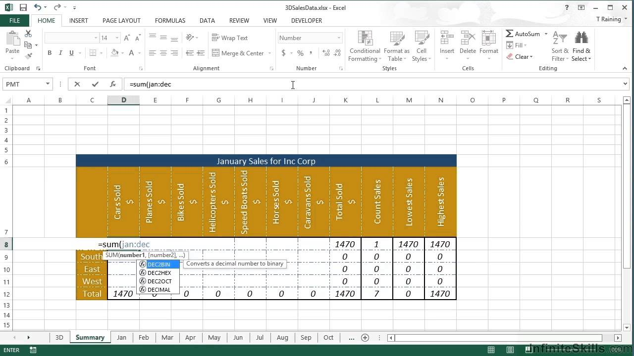 Microsoft Excel   Advanced Formulas and Functions Tutorial   20D Referencing