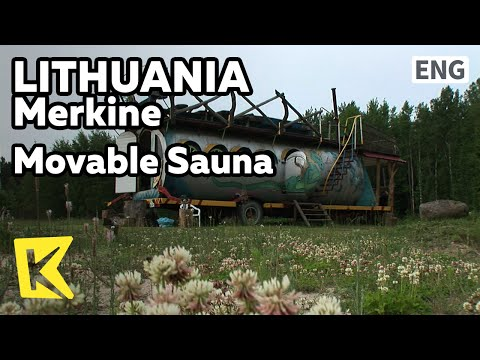 【K】Lithuania Travel-Merkine[리투아니아 여행-메르키네]이동식 사우나/Movable Sauna/Restaurant/Grilled Skewers/Shashlik
