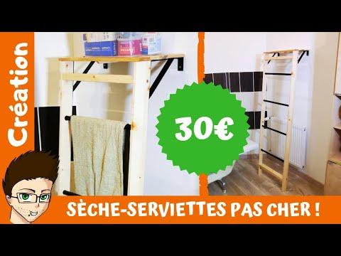UN SÈCHE SERVIETTES POUR MOINS DE 30 EUROS !