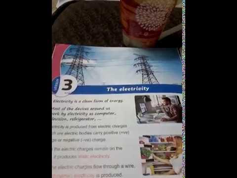 شرح science للصف الرابع الابتدائي لغات - الترم الثانى ( 14 ) - the electricity