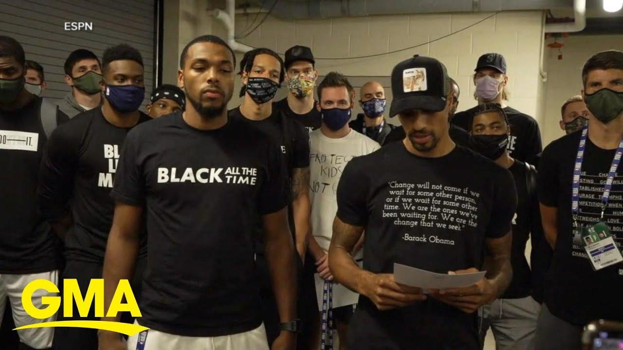 NBA players boycott games over Jacob Blake shooting l GMA
