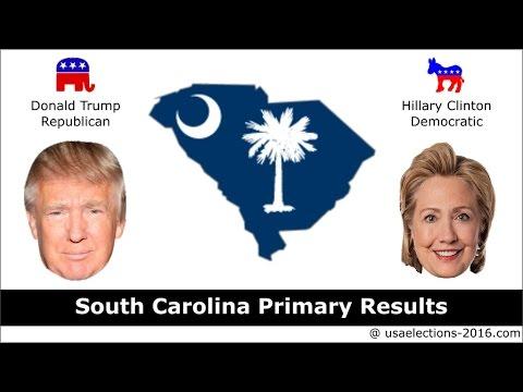 South Carolina Primary Result 2016 : US Election 2016