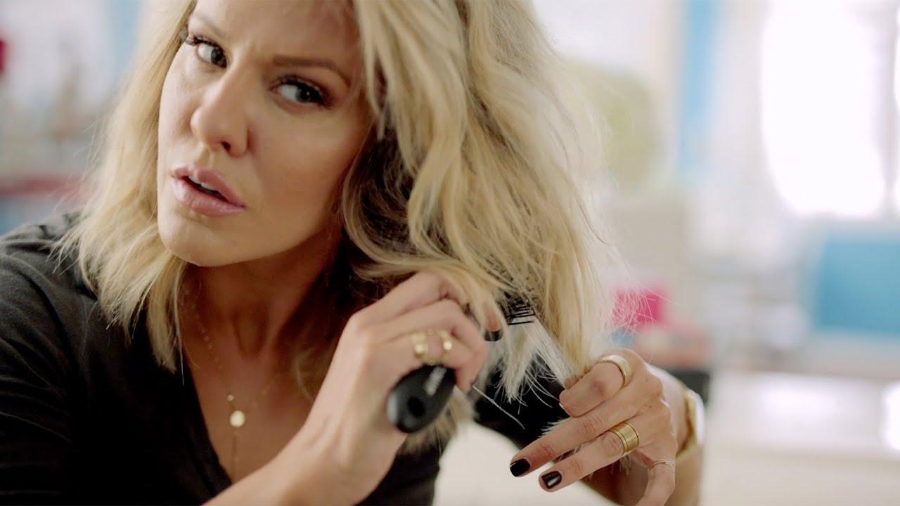 Courtney Kerr Hair Tutorial Long Bob Beachy Curls Youtube