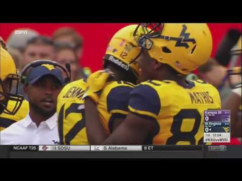 NCAAF 2016 Week 5 Kansas State at West Virginia 10 01 2016 720p60