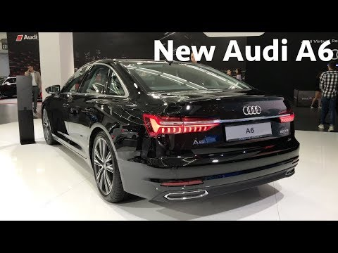 New Audi A6 2019 First Look In 4k Youtube