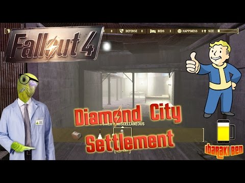 Fallout 4 Settlements Guide - Diamond City Settlement Review