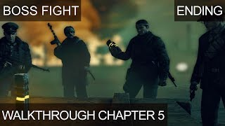 Sniper Elite Nazi Zombie Army 2 Ending Boss Fight Last Mission Chapter 5 Tower Of Hellfire NZA2