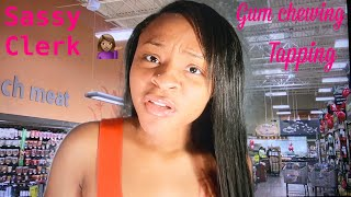 ASMR Sassy Grocery Store Clerk Roleplay!