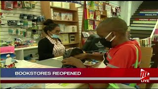 Bookshops, Hardware Stores Reopen