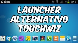 Launcher Alternativo TouchWiz para CUALQUIER DISPOSITIVO con Android