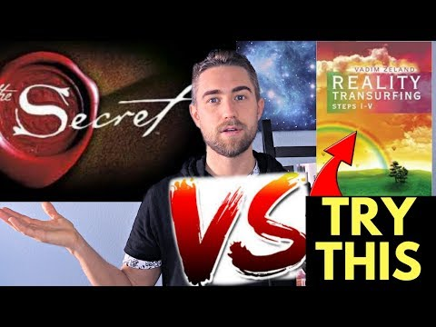 Law of Attraction VS Reality Transurfing (New Manifestation Process)