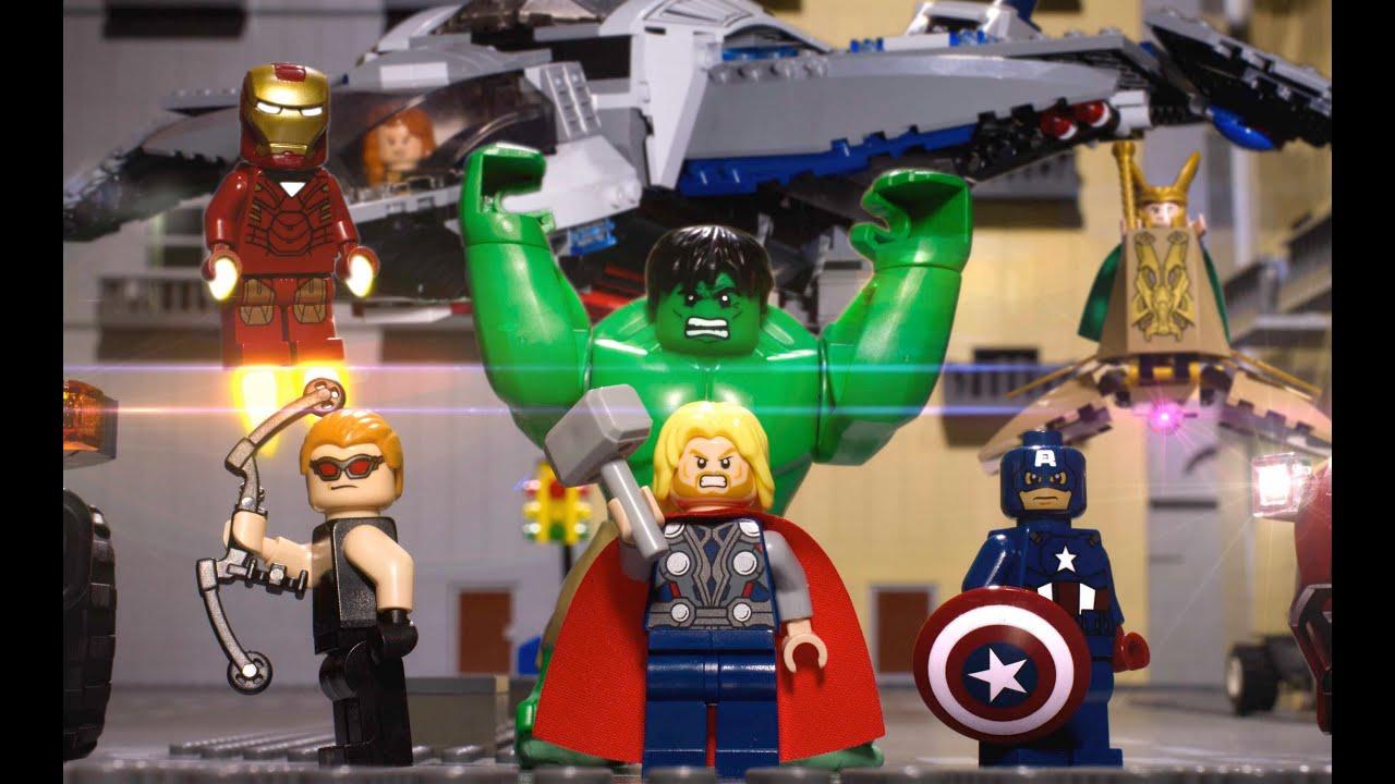 Lego Avengers Ausmalbilder Vorstellung: Lego Avengers: ASSEMBLE!