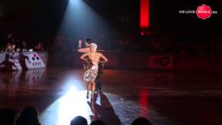 Wld Michael Malitowski & Joanna Leunis. Kremlin Gala 2014. Showcase. Samba