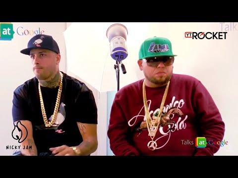 Nicky Jam y Ñejo - Reggaeton at Google By Dj Semaforo | Entrevista
