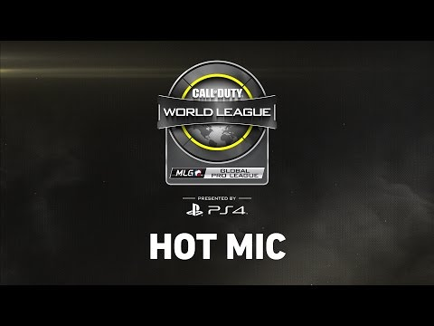 "CWL Global Pro League's ""Hot Mic"" talk show - Week 2 - Group Blue"