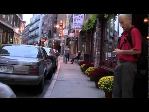 Walking Through Boston's North End  (video postcard)