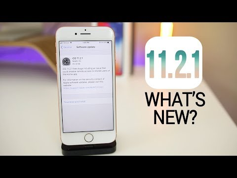 iOS 11.2.1 Released - What