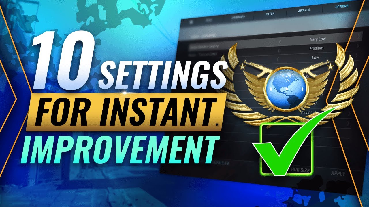 Download INSTANTLY Increase Your Winrate With These 10 Settings - CS:GO