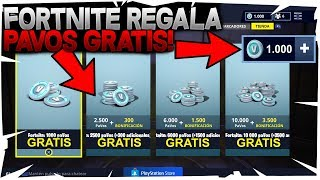 FORTNITE REGALA PAVOS FREE IF YOU DO THIS! YOU HAVE TO SEE IT FREE V-Bucks