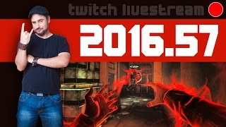 Let's Play Livestream 2016 #57 - News, Fear III