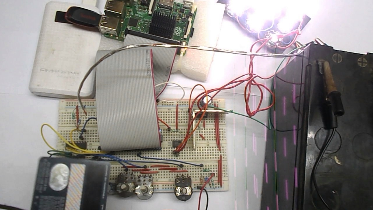 Raspberry Pi Emergency Light Project with Darkness and AC Power Line