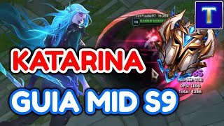 KATARINA GUIA S9 | TODO lo que una Katarina Challenger sabe | TenYasha LOL