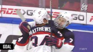 Auston Matthews - 2016 IIHF WJC Highlights