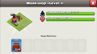 How to use your own Siege Machine - Wall Wrecker or Battle Blimp in TH12