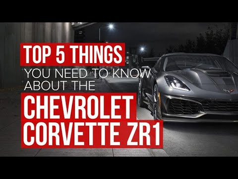 2019 Chevrolet Corvette ZR1: 5 things to know - Dauer: 2 Minuten, 11 Sekunden