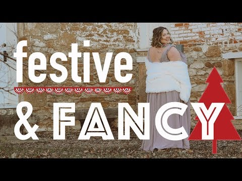 Festive Holiday Party Dresses For Plus Size Babes!