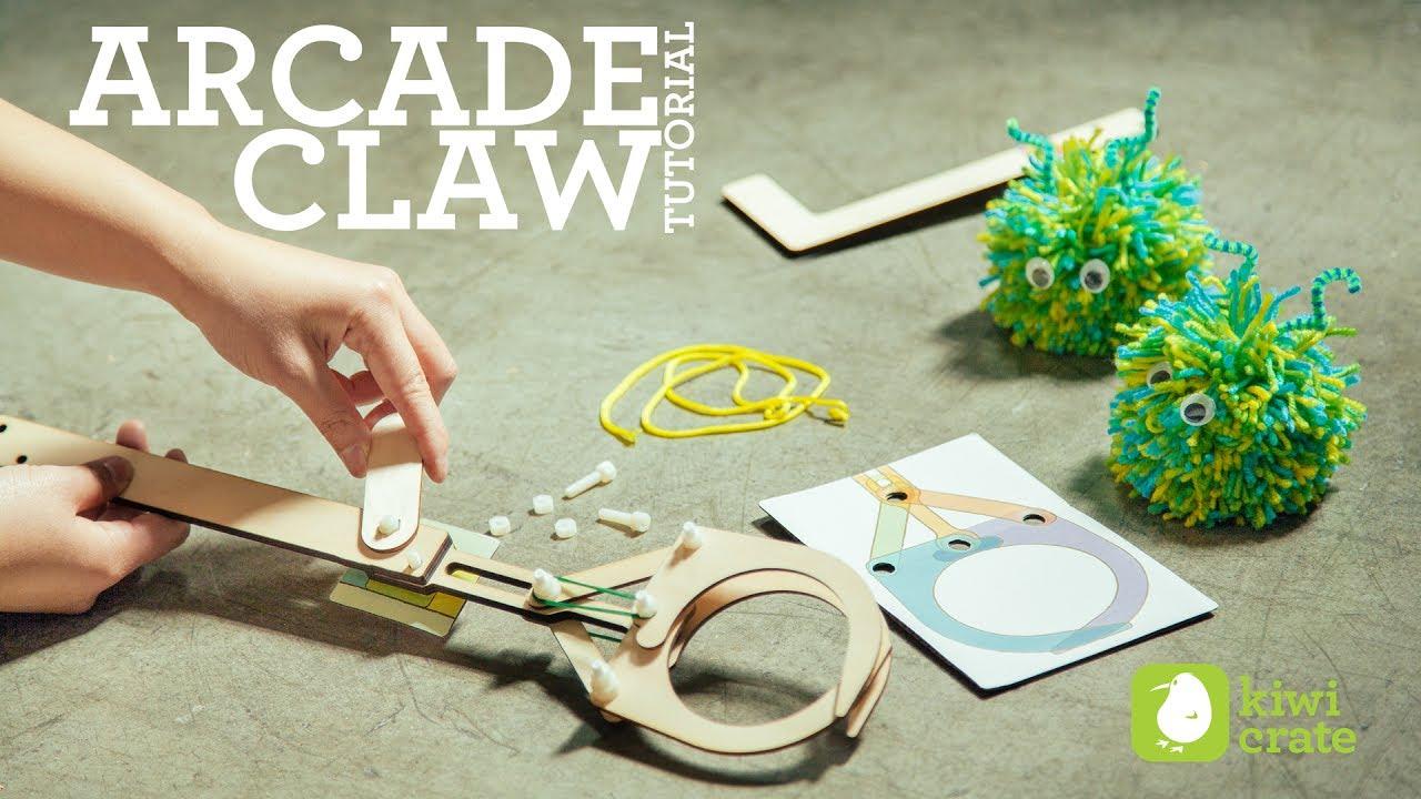 Kiwi Crate Arcade Claw Tutorial