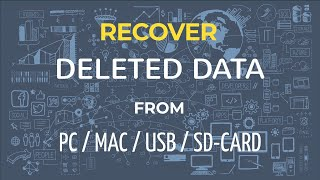Recover deleted data from Windows/Mac/USB/SD-Card for FREE!!!!!