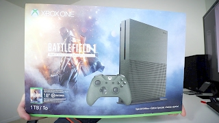 xbox one s battlefield 1 edition unboxing