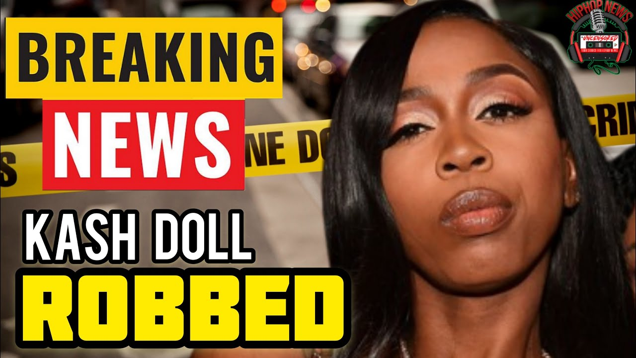 BREAKING: Kash Doll Just Hit Up For 500K In Los Angeles!
