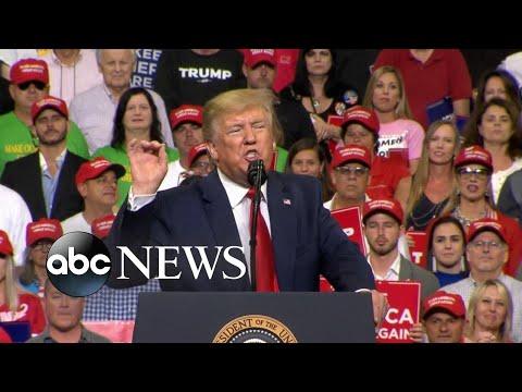 Trump campaign kicks off, Navy vet on trial, Iraq rocket attack