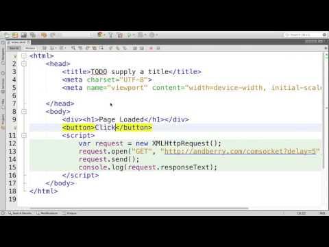 JavaScript WebWorker Example