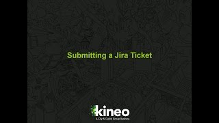 Submitting a Jira Ticket