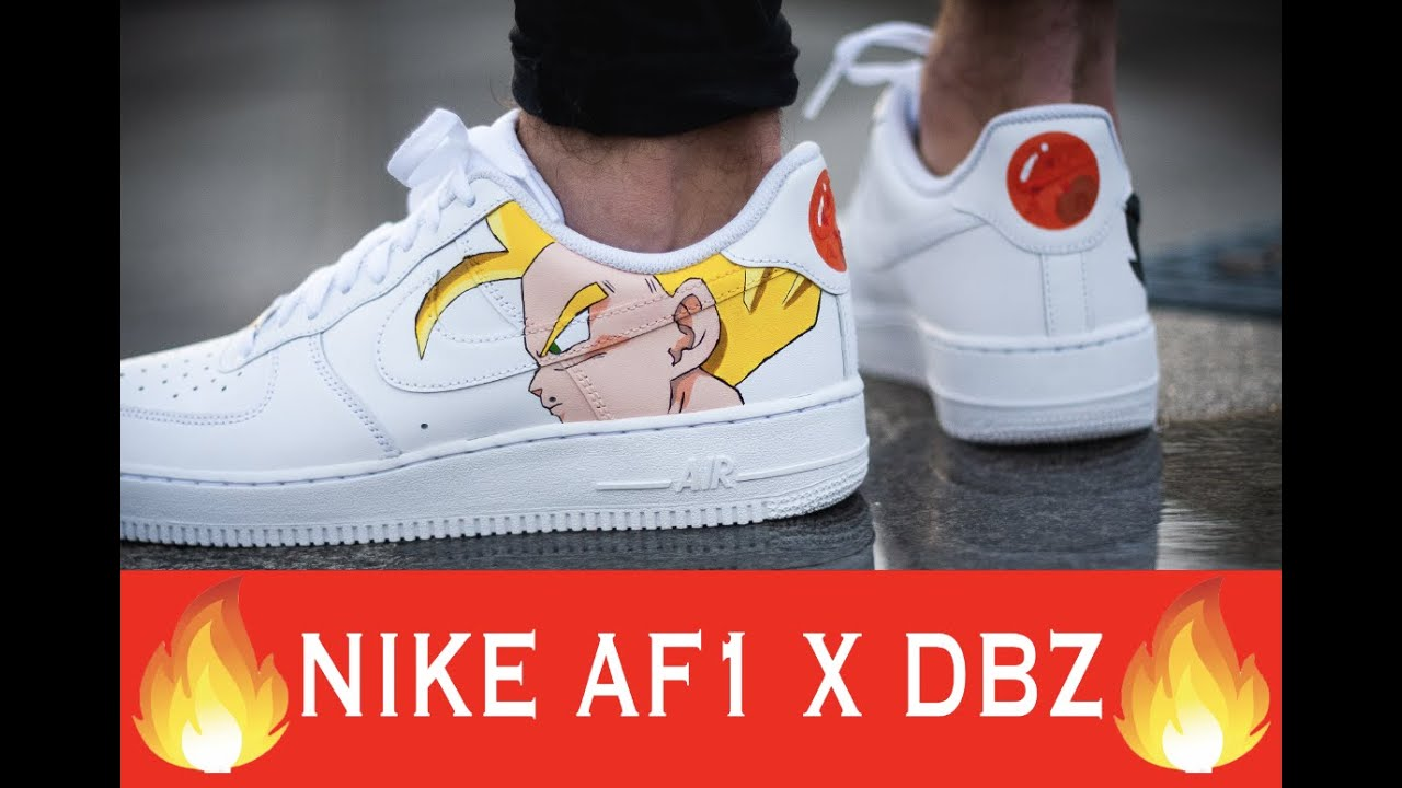new product e560b e7d18 Custom Nike Air Force DBZ