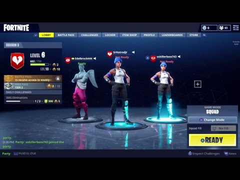 Fortnite with RiSen