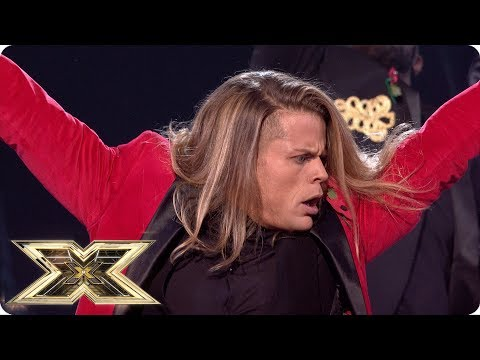 Giovanni Spano is in his element with The Greatest Show   Live Shows Week 4   The X Factor UK 2018
