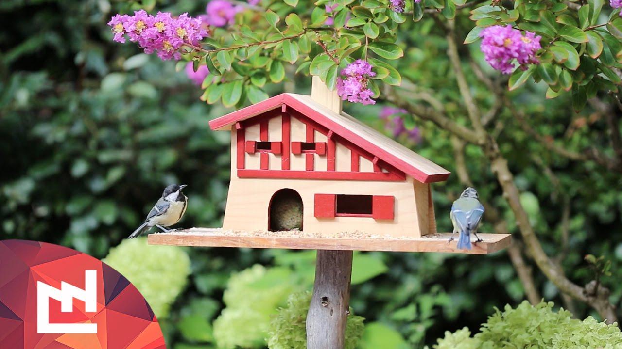 Diy bird house youtube for Diy bird house