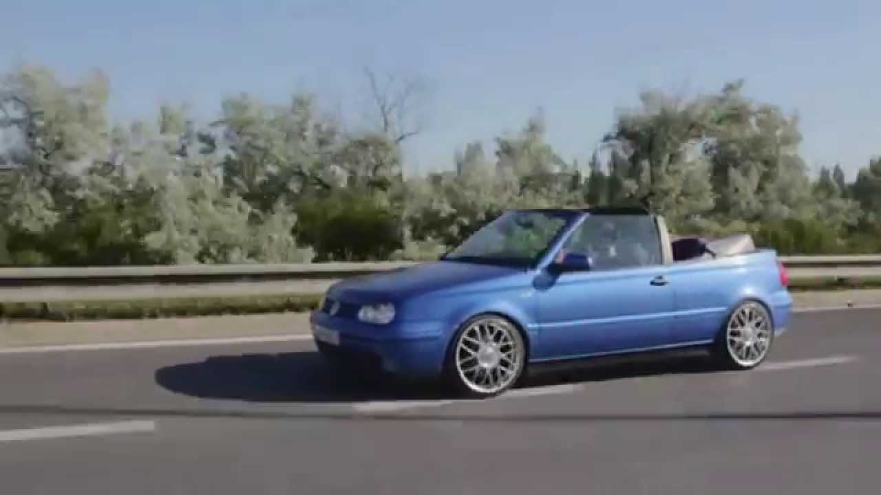 Vr6 cabrio youtube for Interieur golf 3 vr6