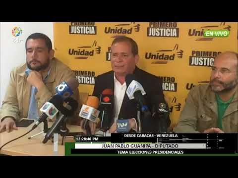 Venezuela - Primero Justicia hace pública la agenda de protesta del Frente Amplio  - VPItv
