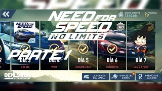 Need For Speed No Limits Android Honda Nsx 2017 Dia 7 Ley y Orden Parte 1