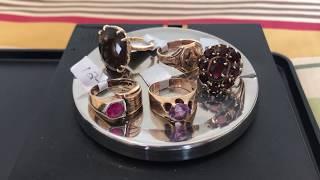 Estate sale / Garage Sale Finds Haul #35 - 10k & 14k Gold Jewelry Rings - Lalique