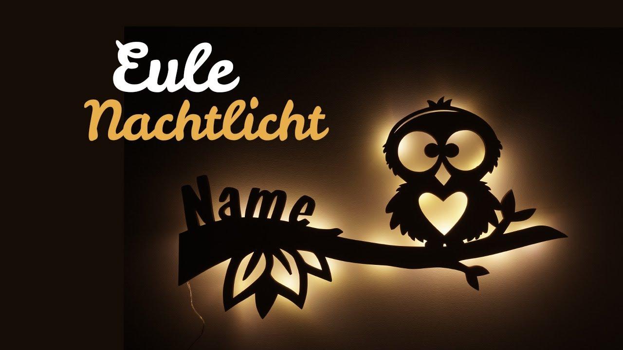 Eule Hearty Kinderlampe Lampe Eulenlampe Mit Name